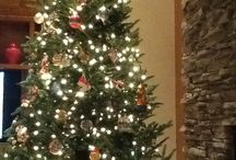 Christmas Tree by the Hearth
