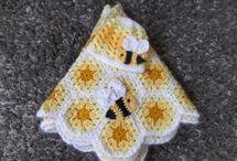 crochet bb : couvertures, doudoux, accessoires...