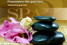 Free wellness spa PowerPoint template