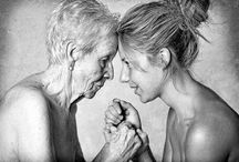 """Aging Gracefully / """"Beautiful young people are accidents of nature, but beautiful old people are works of art."""" --Eleanor Roosevelt"""
