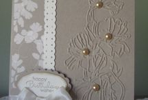 Flowers / Sizing embossing folder