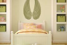 Ali di piume e angeli / La poesia degli angeli e delle loro ali di piume nell'arredamento d'interni