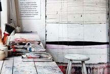 Studio, ateljé