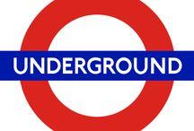 Metro de Londres / Imágenes del Metro de Londres, también conocido como Tube o Underground