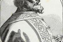 La Francie / Francs Mérovingiens et Carolingiens