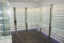 Торговые витрины / Производим торговые витрины для магазинов.