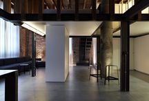 FDA - loft jo - MI / #architecture #interiordesign #design #interior #minimal #italianstyle #italiandesign #federicodelrossoarchitects #italianarchitects #interiorarchitecture #studioarchitettura #concrete #white #wood #metal #decor #loft #neutral #residentialspaces #residential #home #apartment #furniture #lighting #light #toiletdesign #livingroomdesign #livingspaces #brick #milan  #italy