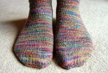 編み物 くつ下