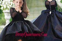 mini Quinceanera dress