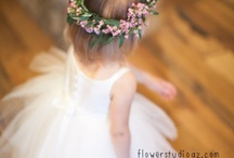 Flower Girls / Check out these Flower Girls with custom designs!