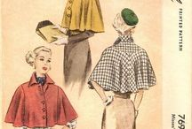 vintage capes and stoles