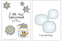 Wintertime Speech / Games and ideas for a winter theme in speech therapy