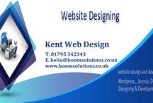 Web Design Kent UK - BoomSolutions / Boom Solutions – We're a small design agency that specialise in helping businesses get he most out of the internet. Wether you are looking for a new website, a full rebrand or to work out a full digital marketing strategy we can help. Working with small and medium businesses we are able to use our years of experience to help you achieve great results online.