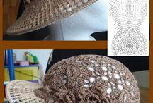 Háčkované čiapky,kobúky