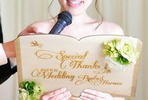 花嫁の手紙 手作りボード