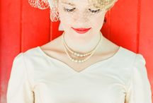 Vintage Weddings and Bridal Hats / Vintage can lend a new dimension and depth to a wedding.  The glamour and savoir faire of yesterday.