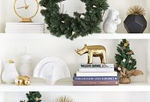 christmas shelf decor