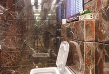 Small Bathroom Design Ideas / Bathroom design, bathroom decor, washroom interiors