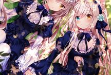 Anime близнецы