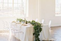 Modern Minimalist Weddings