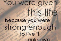 Quotes and Sayings / by Lynn Hanford