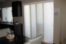 Sliding Panels / Modern alternative to vertical blinds and excellent option for sliding doors.