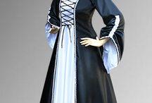medieval renaissance robe dress