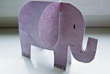 Elephants preschool theme
