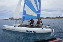 Dart 16 / Dart 16 provides exciting performance, yet can easily be handled by inexperienced crew. The responsiveness is similar to that found on a racing dinghy, yet Dart 16 is exceptionally stable and forgiving.