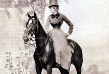 Riding habits - 19th century