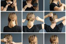 shorthair ponytail