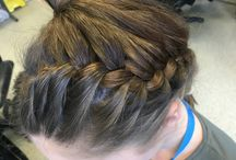 The Hairdresser Course; my work.