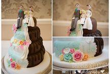 Wedding Cake Inspiration / Beautiful and Creative Wedding Cakes #wedding #cake #inspiration