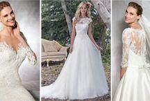 Vestidos de noiva com renda / Lindos vestidos de noiva com renda. O tecido mais usado pelas noivas.