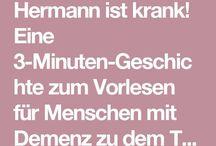 Hermann ist krank