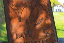Leather-Wallets, Dayplanners, Bookcovers