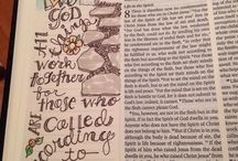 scripture word art / by Sharon Watson