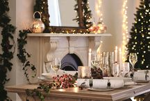 Christmas Mood Board / Festive home deco & food