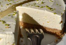 cheesecakes, tiramisus, mousses et crèmes