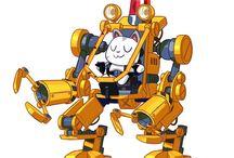 메카,로봇 종류