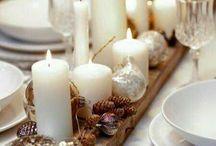 podložky na adventní svíčky