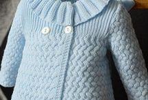 детское пальто вязание
