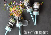 confetti love / all things confetti for parties and celebrations
