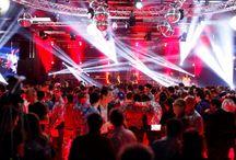 Personeelsfeesten / Organiseren van personeelsfeesten en bedrijfsfeesten
