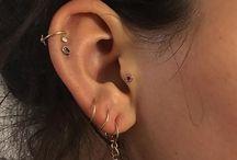 earrings // piercings