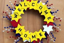 """Welcome Home Heroes!  / Ideas to welcome """"Our Heroes"""" home!"""