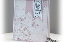ODBD Shabby Rose paper pad