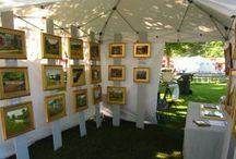 Art and card displays