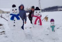 Preggers in the Snow!