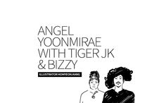 "Yoon Mirae with Drunken Tiger & Bizzy ""Angel"" / MV drawing"